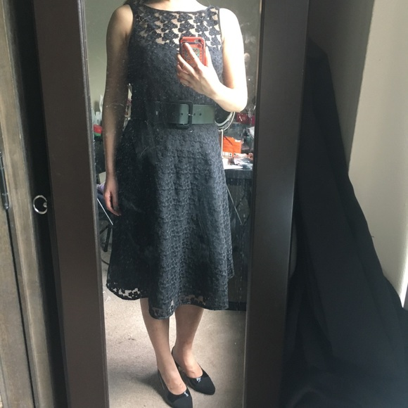 Karl Lagerfeld Dresses & Skirts - Lace black dress